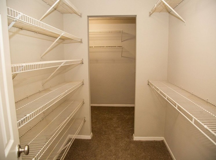 Walton Grove Apartment Homes, Smyrna GA Walk-in Closet
