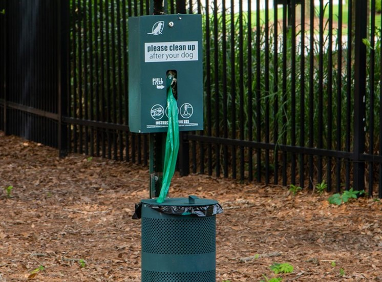 The Legacy at Walton Oaks Apartment Homes, Augusta GA Pet Waste Station