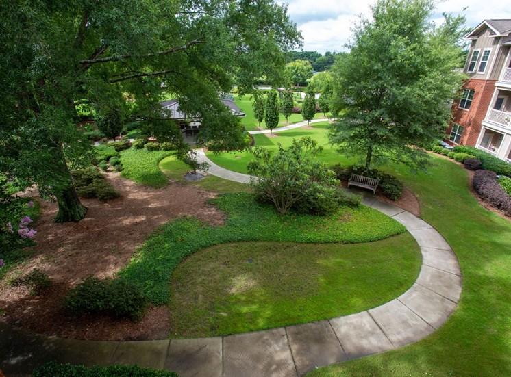 The Legacy at Walton Oaks Apartment Homes, Augusta GA Walking Paths