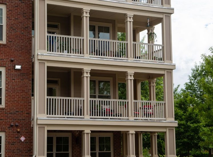 The Legacy at Walton Oaks Apartment Homes, Augusta GA Covered Patios