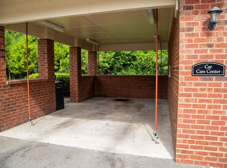 The Legacy at Walton Oaks Apartment Homes, Augusta GA Car Care Station