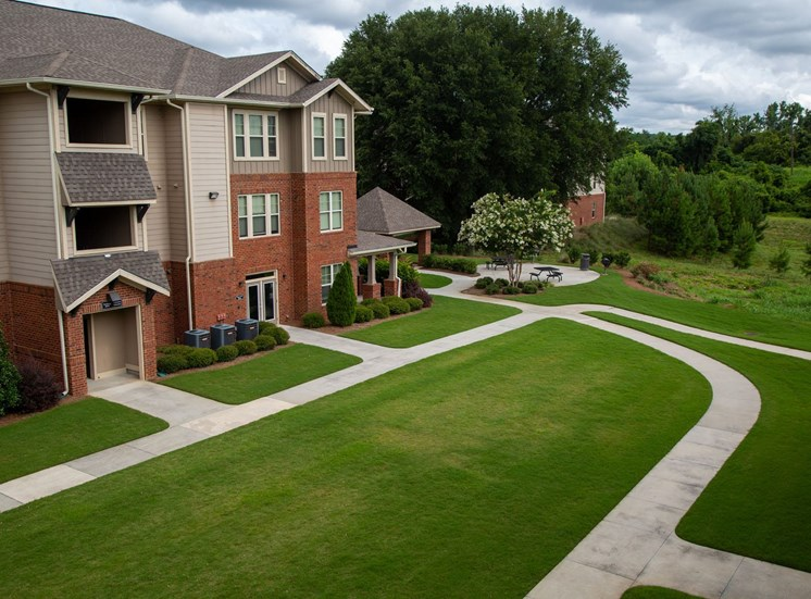 Walton Oaks Apartment Homes, Augusta GA Walking Path and Greenspace
