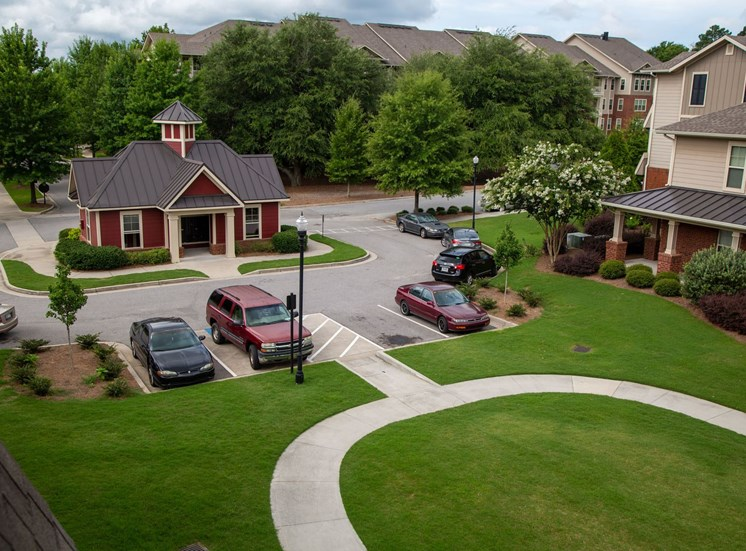 Walton Oaks Apartment Homes, Augusta GA Mail Center and Walking Path