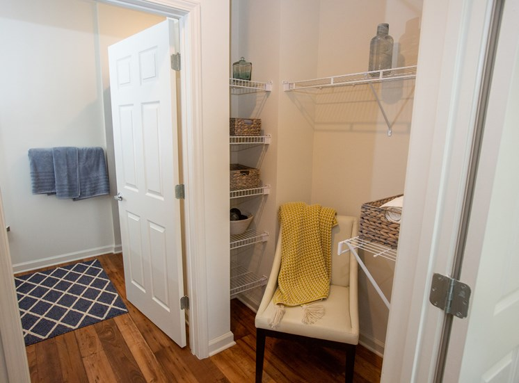 Walton Ridge Walk-in  Closets