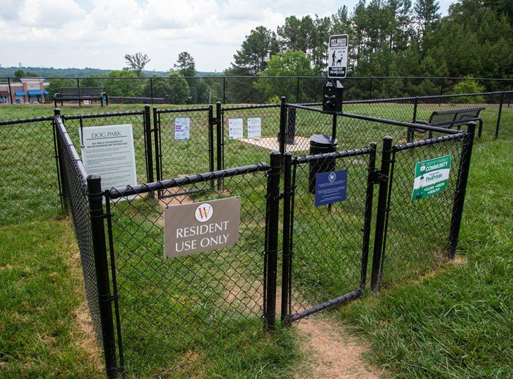 Walton Riverwood Apartment Homes Fenced Dog Park