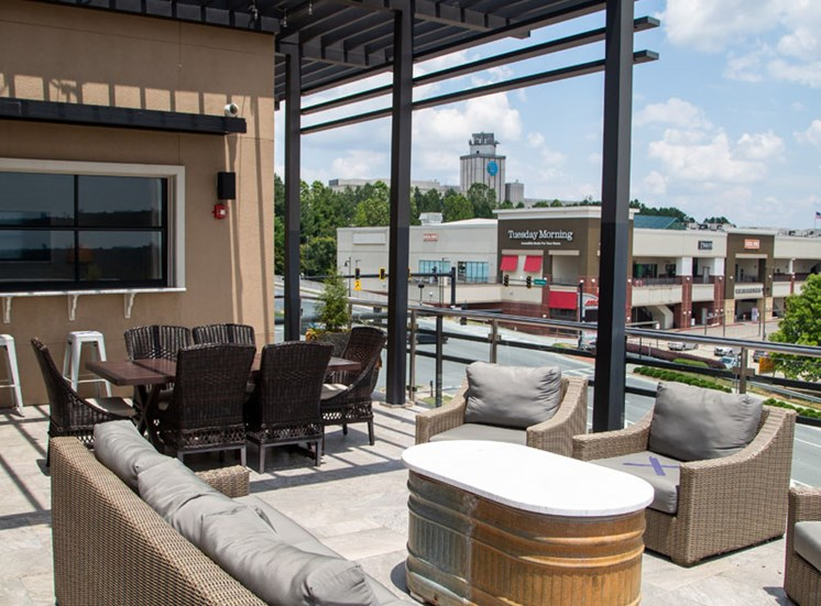 Walton Riverwood Apartment Homes  Atlanta, GA Skydeck