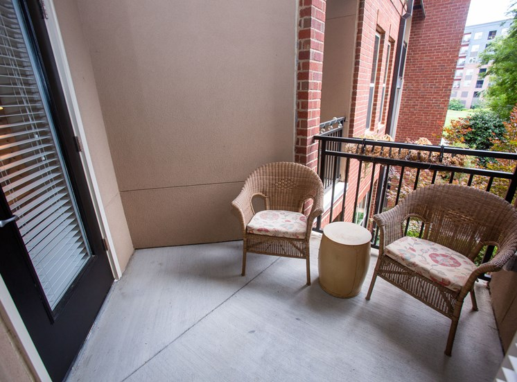 Walton Riverwood Apartment Homes  Atlanta, GA Patio
