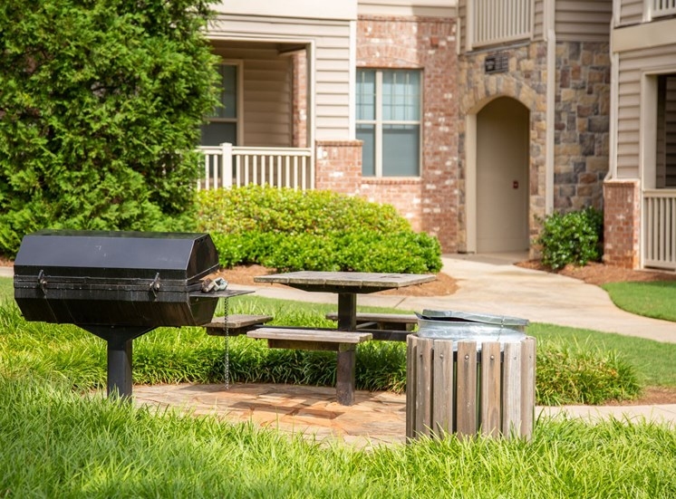 Legacy at Walton Village Apartment Homes, Marietta Ga Grill and Picnic Area