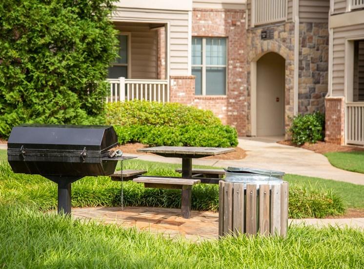 Walton Village Apartment Homes, Marietta GA  Grill and Picnic Area