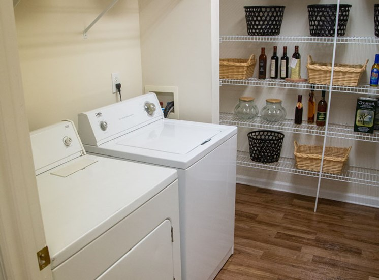 Walton Vinings Apartment Homes Laundry and Pantry