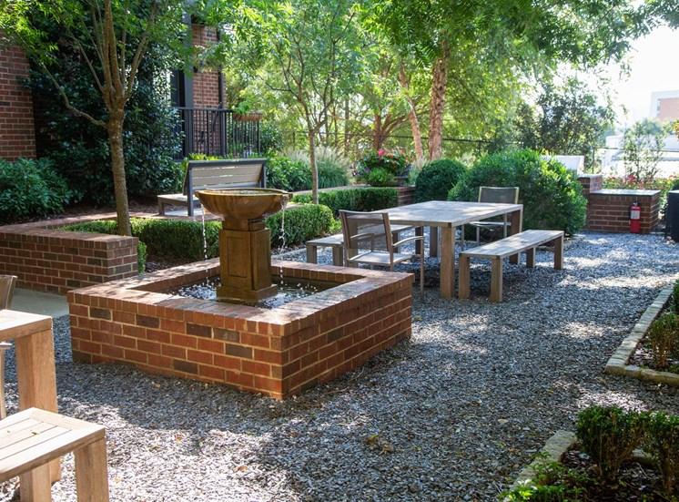 Walton Westside Apartment Homes Quiet Courtyard