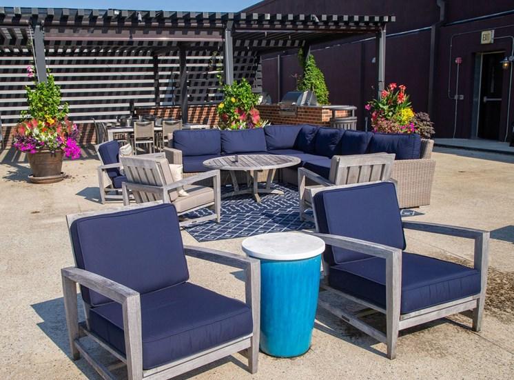 Walton Westside Apartment Homes Rooftop Deck