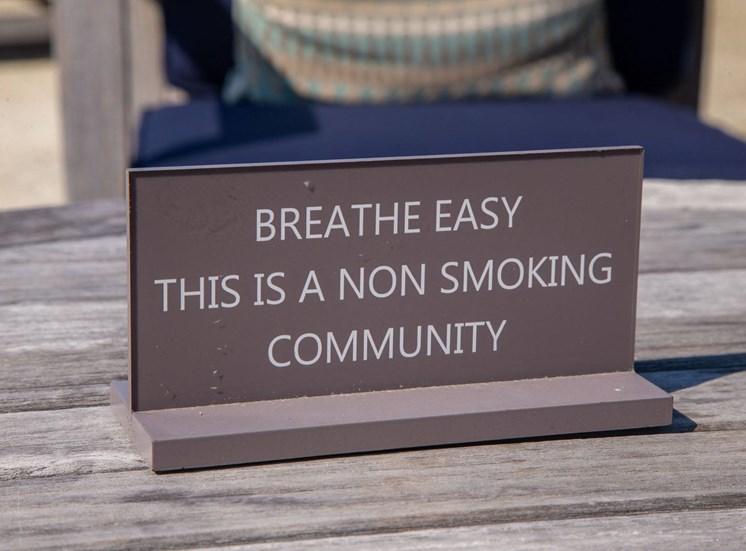 Walton Westside Apartment Homes a smoke-free community