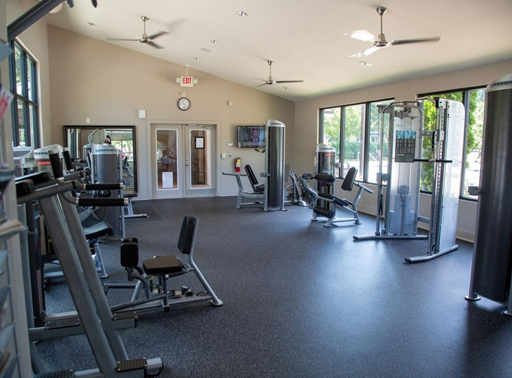 Woodstock West by Walton Apartment Homes  Fitness Center