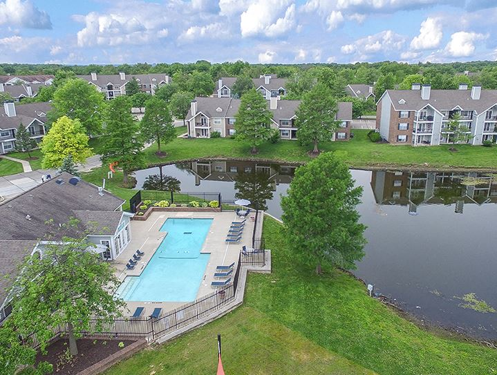 Aerial Picture of Pelican Cove Apartments