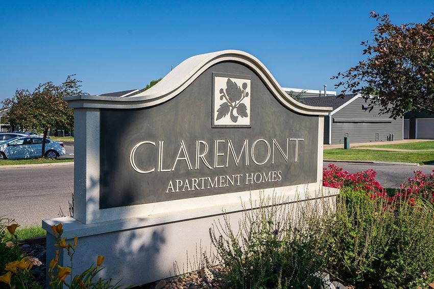Claremont Monument Sign