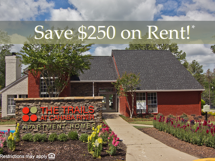 Save $250 On Rent!