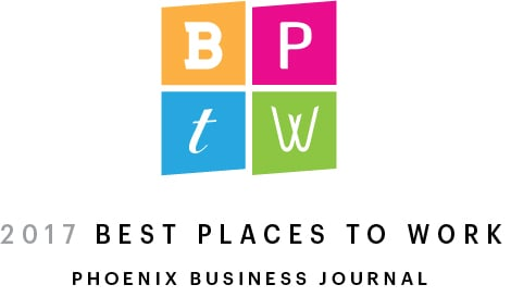 Phoenix Business Journal 2017 Best Places to Work