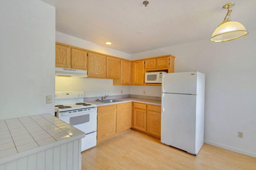 Kitchen at Hillside Creek Apartments in Prescott, AZ