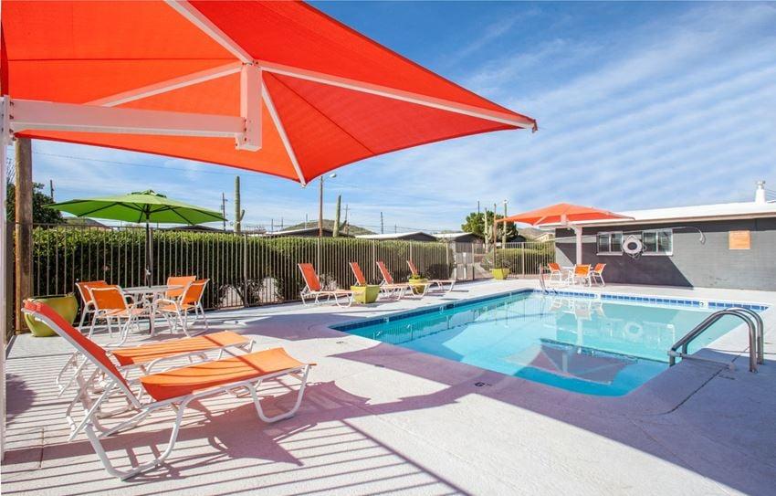 Pool & Pool Patio at Zona Village Apartments in Tucson, AZ