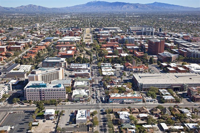University Blvd near Main Gate Apartments in Tucson AZ 2021