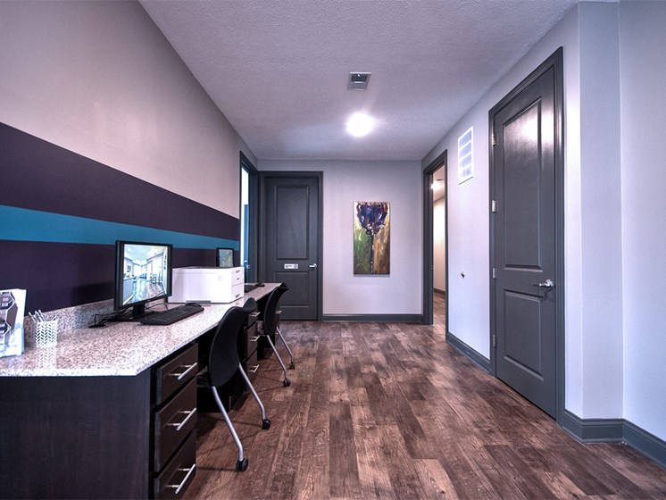 apartment office area