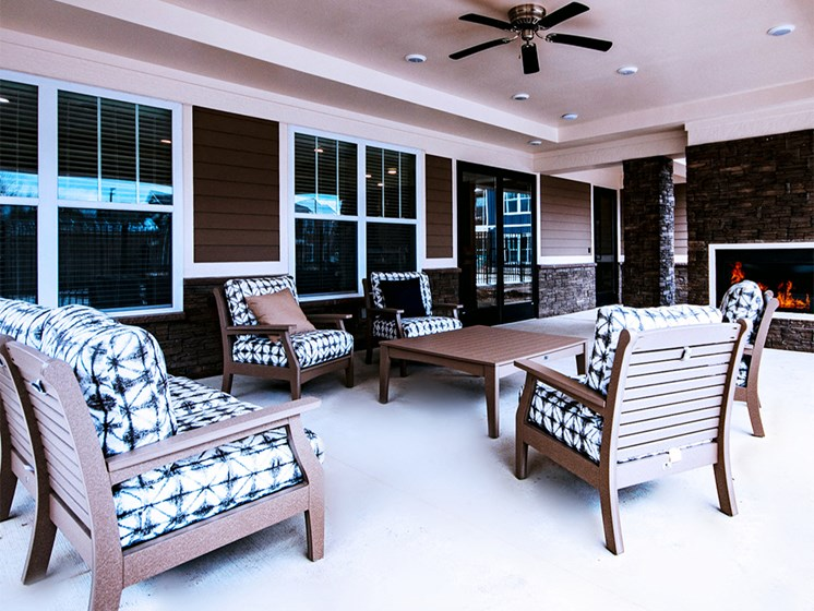 outdoor resident patio
