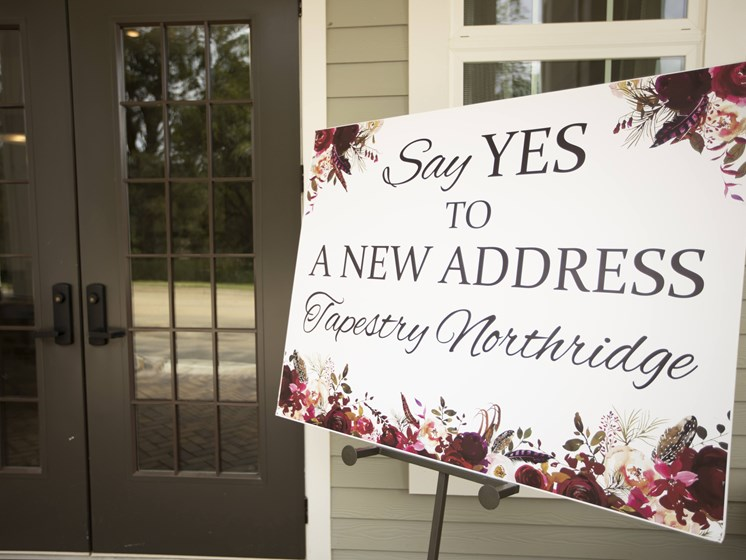 Say YES to Tapestry Northridge