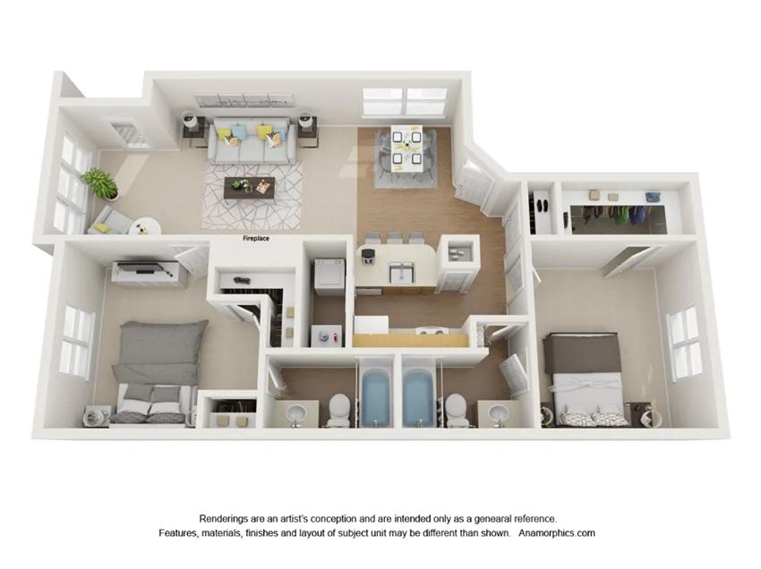 Preserve 2x1 Apartment
