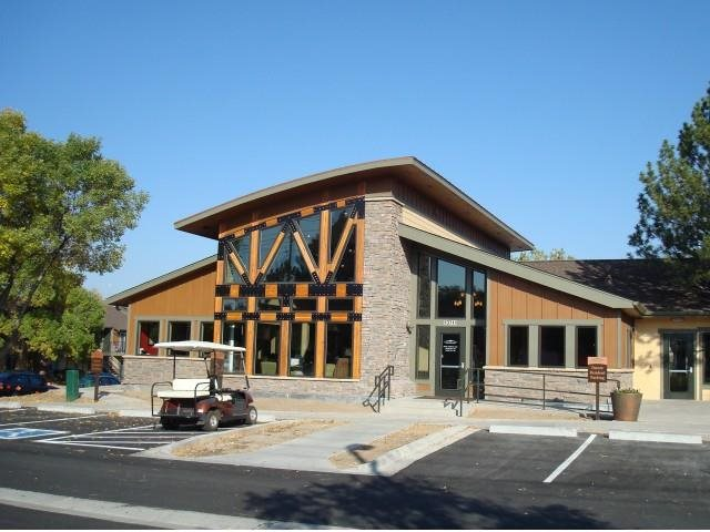 Copper Flats Leasing Office Exterior