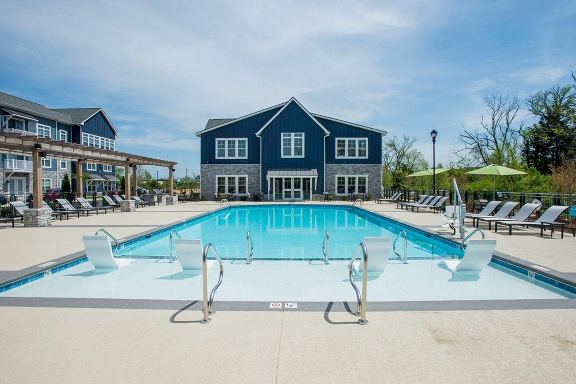 Greenhaven Swimming Pool Clubhouse View
