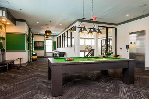 Greenhaven billiards table