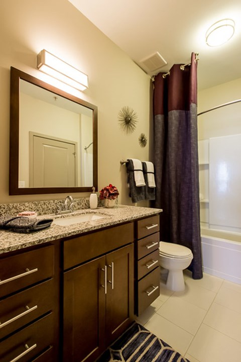 Greenhaven apartment bathroom