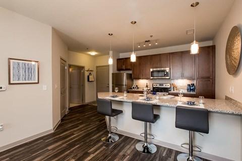 Greenhaven kitchen apartment