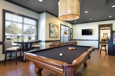 grand prairie apartments, for rent, apartments in grand prairie, pool table