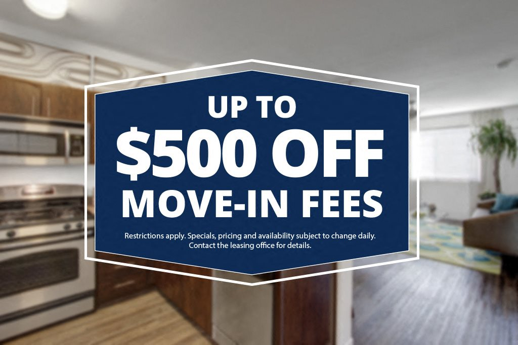 Artisan - up to $500 off Move-in Fees