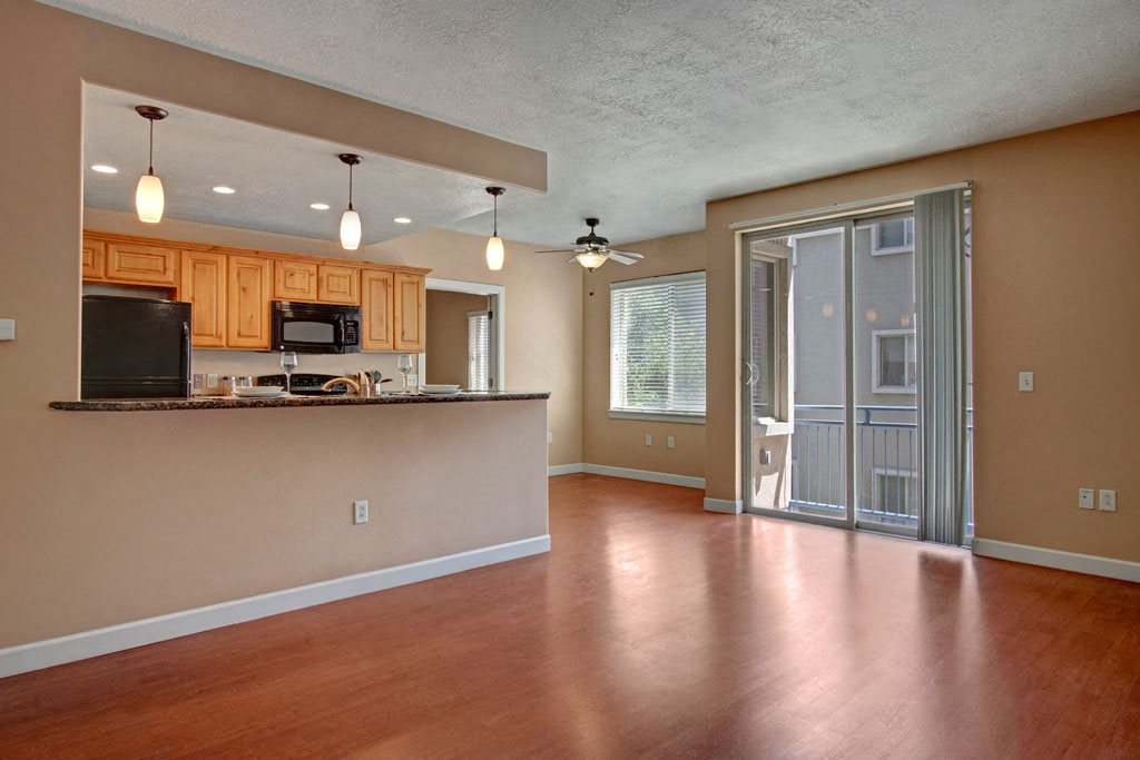 Bridges - kitchen and living room