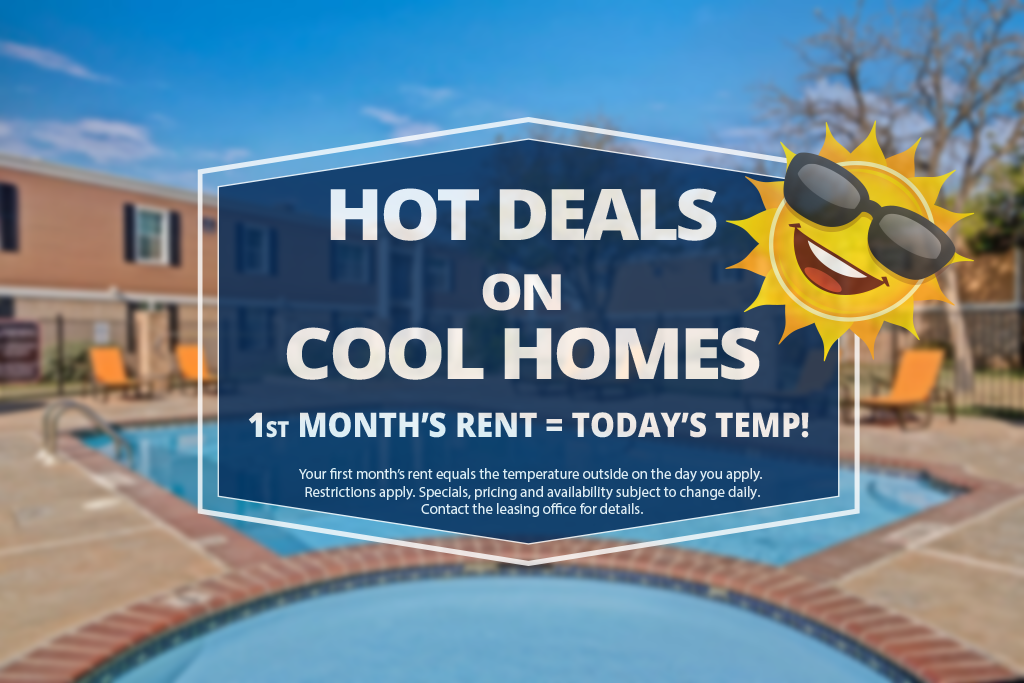 Golden Crest - 1st months rent = todays temp