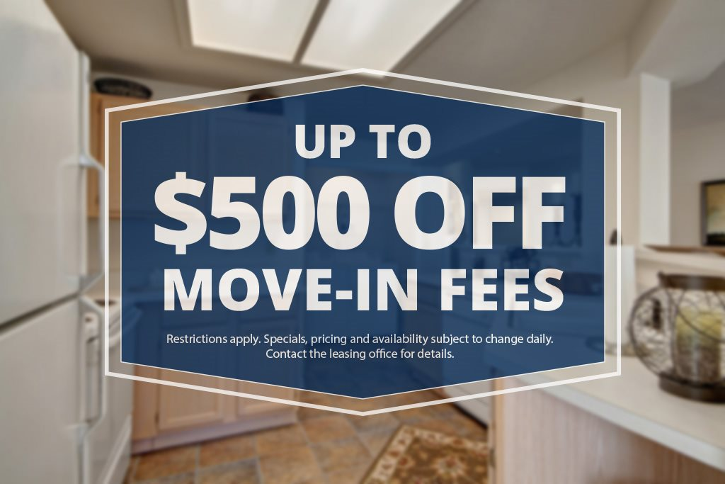 LincolnVillas - up to $500 off Move-in Fees