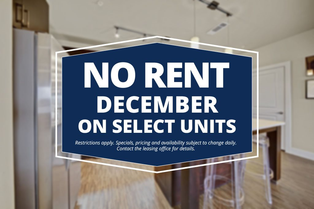 The Metropolitan - Pay No Rent in December - Select Units