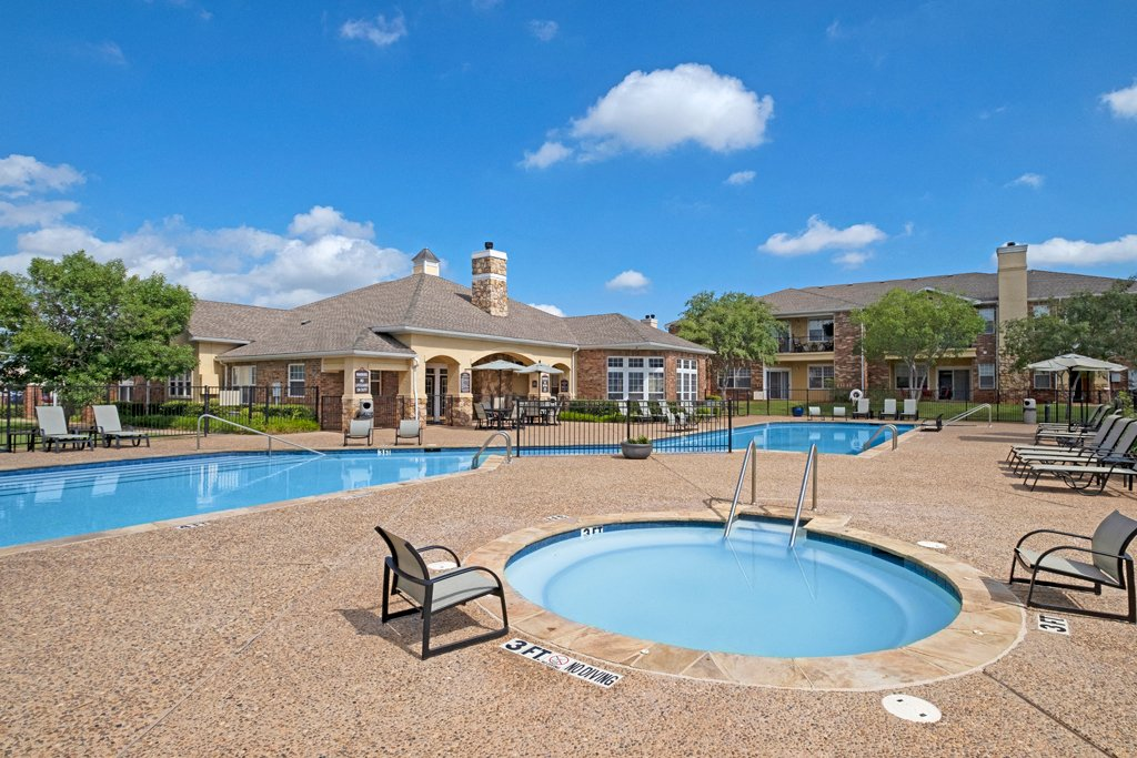 Quail Landing  outdoor pool and hot tub