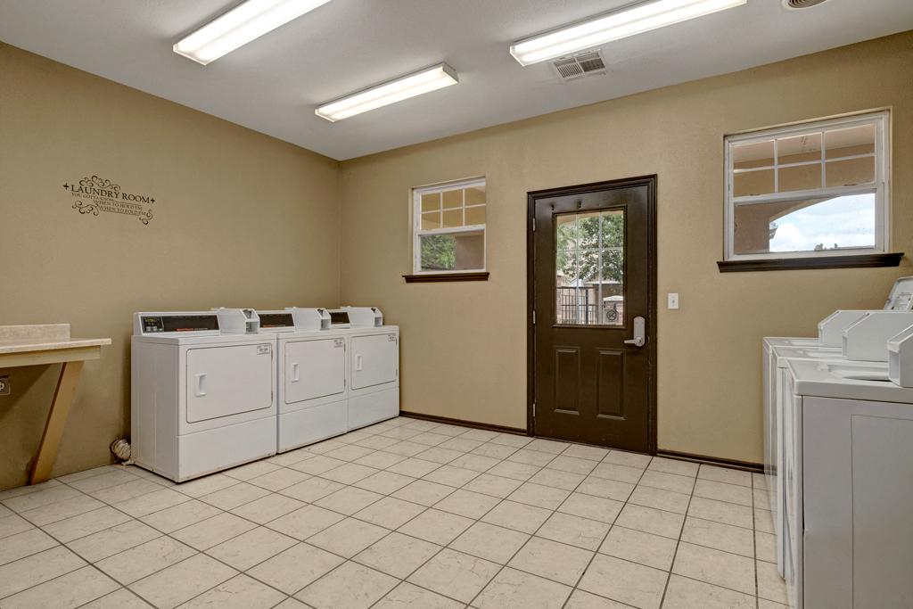 Quail Landing  shared laundry