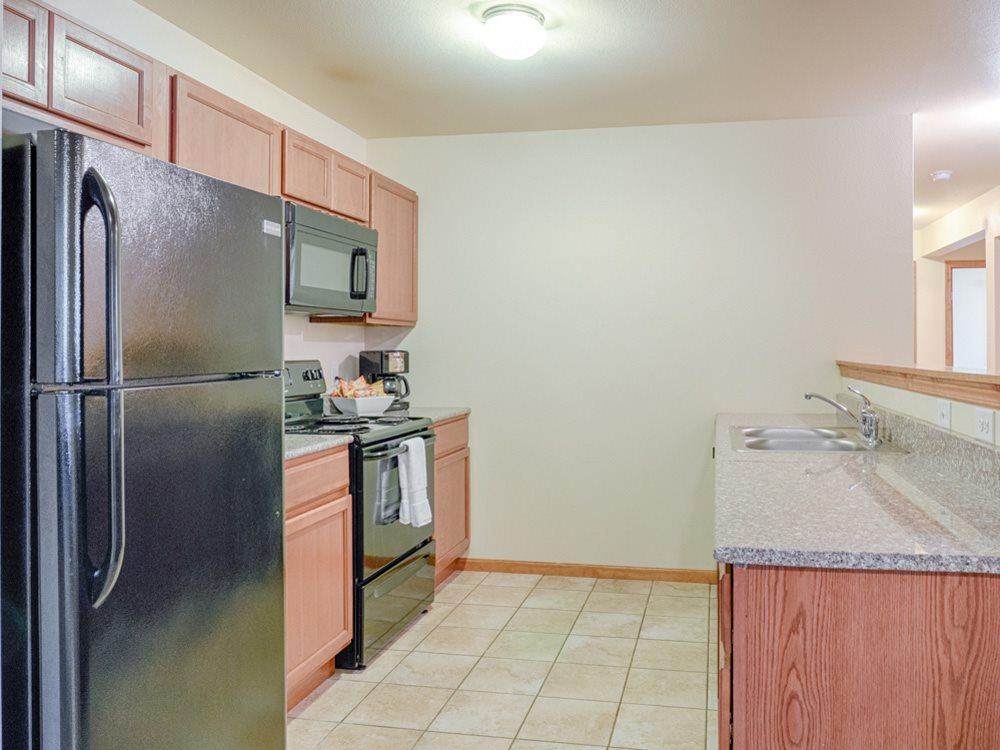 Rockridge kitchen side view