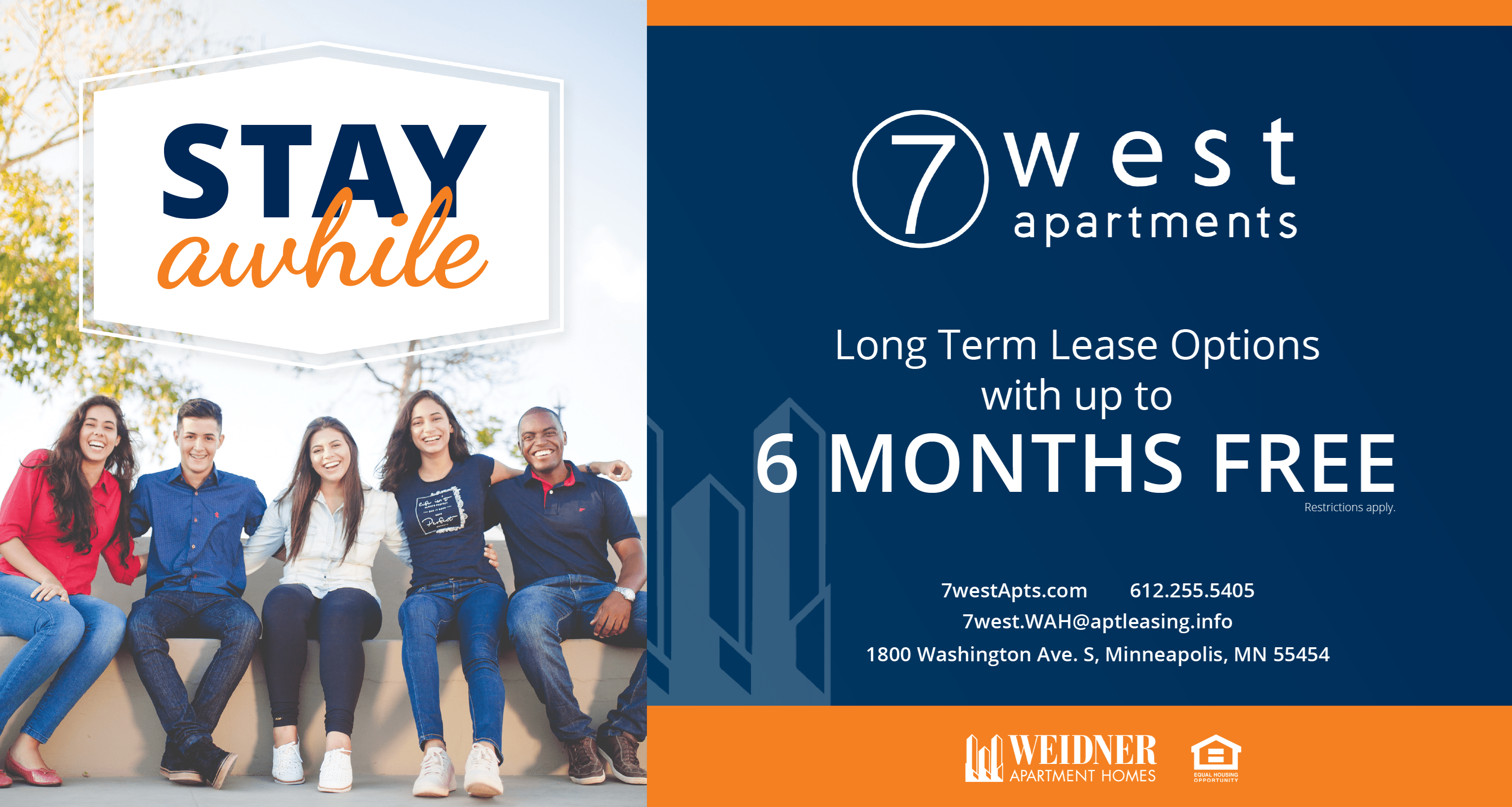 Special Savings Long Term Lease Up to 6 Months Free