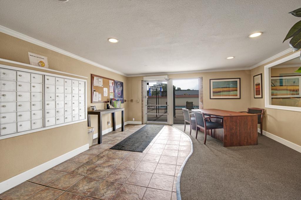 Broadmoor Park Terrace Lobby Mail Room