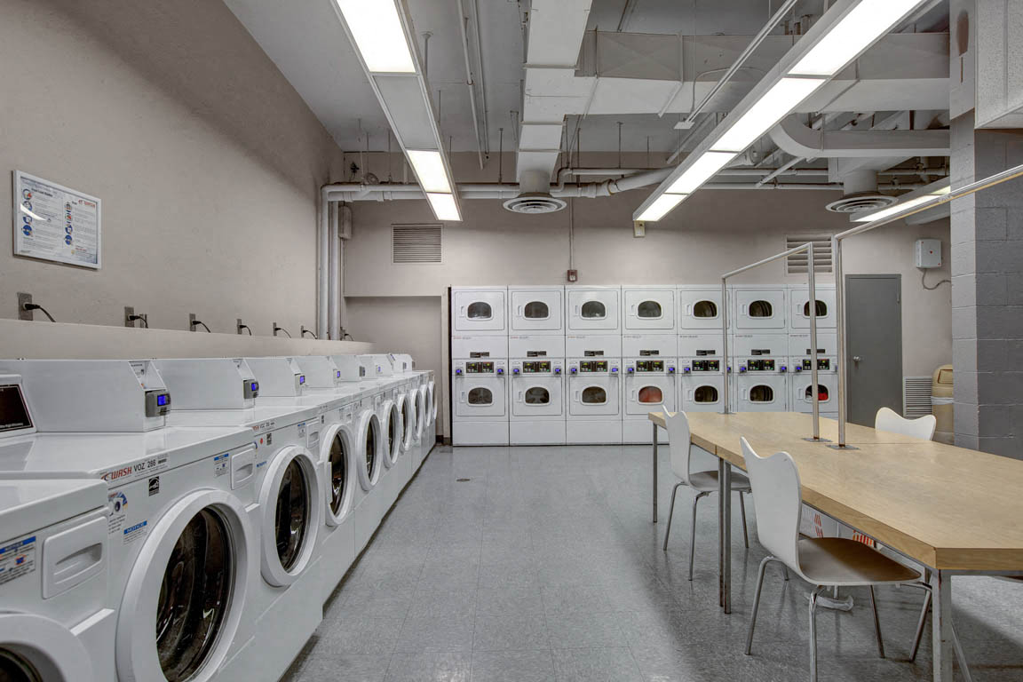 Capitol Towers Laundry Room