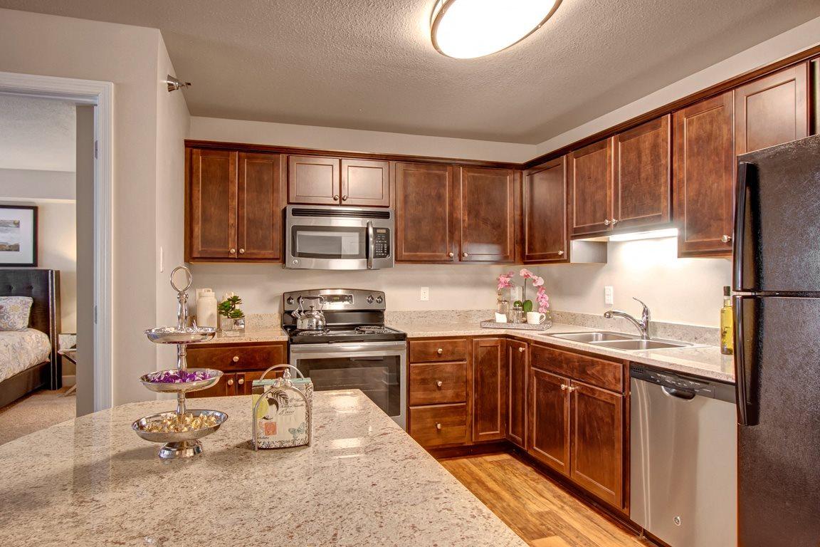 Fairways Kitchen View