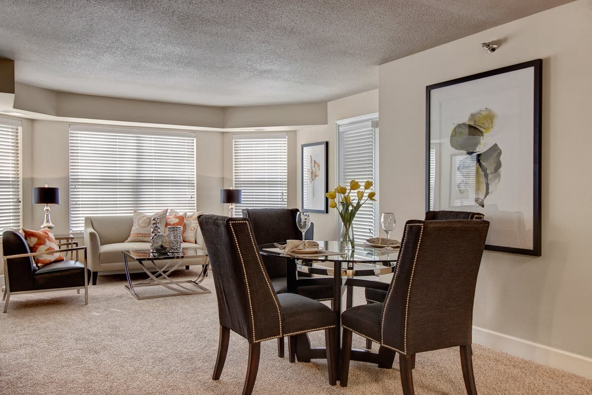Fairways Living and Dining Room