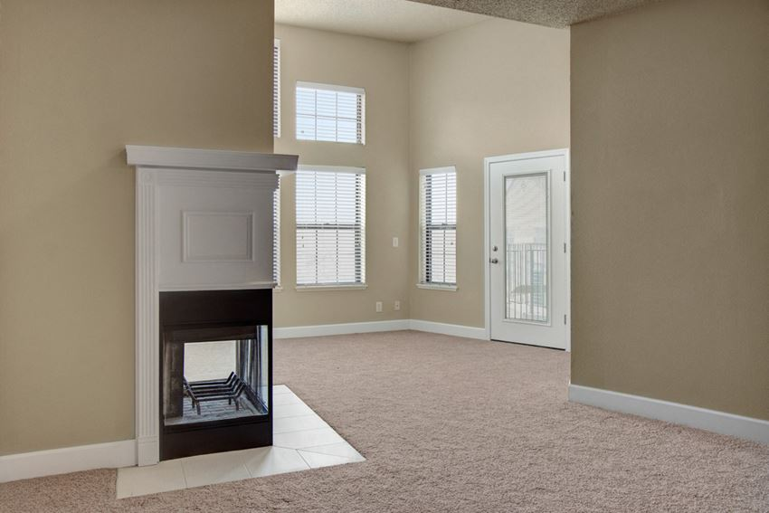Fairways Living Room with Fireplace