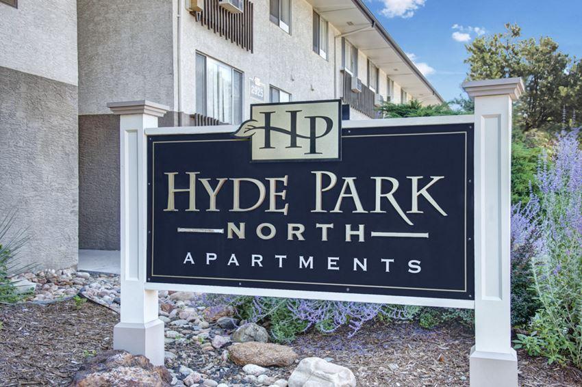 Hyde Park North Signage